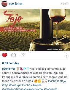 #vinhosdotejo #cvrtejo #winesoftejo - Instagram do @openjornal, com 1.327 seguidores e 89 curtidas para o Post até o momento. Especial Vinhos do Tejo. CVR Tejo.