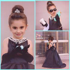 Mini Audrey Hepburn  costume set