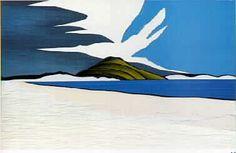 Donald Binney Coastal Landscape