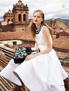editorial: nathalia oliveira for marie claire australia's march by {this is glamorous}, via Flickr