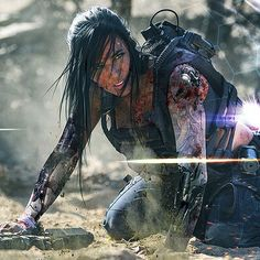 Alex Zedra, Last Stand, Military Girl, Game Concept Art, Gaming Wallpapers, Girl Inspiration, Studio Shoot, Photo Look, Zombie Apocalypse