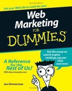 Jan Zimmerman - Web Marketing for Dummies