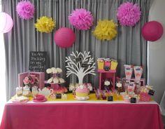 Cake at a Cupcake Party #cupcake #cupcake #partycake