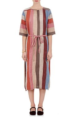We Adore: The Olympia Mixed-Fabric Midi-Dress from Ace