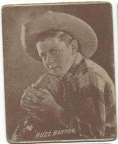 Buzz Barton 1913–1980