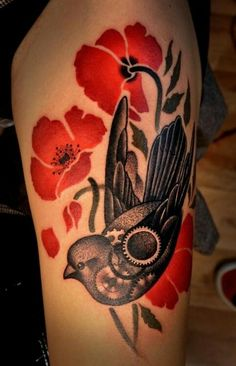 Swallow and poppies!! Must have!!