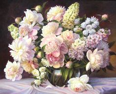 Tablet Nature Assorted Flowers Glass Painting Peonies Roses Table Cloth Vase Wallpapers Resolution : Filesize : kB, Added on March Tagged : tablet nature Pastel Flowers, Diy Flowers, Flower Vases, Flower Art, Flower Arrangement, Acrylic Painting Canvas, Diy Painting, Painting Flowers, Decoupage