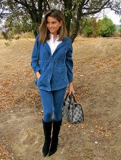 Fashion and Style Blog / Blog de Moda . Post: Denim Look / Look Vaquero See more/ Más fotos en : http://www.ohmylooks.com/?p=3301 OhMyLooks by Silvia García Blanco