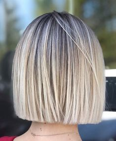 Classic Brunette Balayage - 20 Inspirational Long Choppy Bob Hairstyles - The Trending Hairstyle Brown Hair With Blonde Highlights, Hair Highlights, Short Bob Hairstyles, Cool Hairstyles, Blunt Bob Haircuts, Short Blunt Haircut, Short Blunt Bob, Blonde Hairstyles, Casual Hairstyles