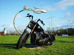 Modified Harley-Davidson Dyna Street Bob, PINTAIL BOB | Rocket Bobs