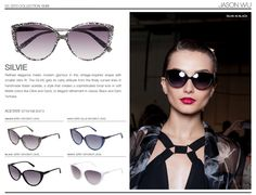 Jason Wu Sunglasses / Silvie / #jasonwu #sunglasses #fashion #eyewear #spring #summer #SS13 #modo