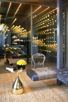 Home Interior Design, Interior And Exterior, Infinity Mirror Room, Home Designer, Light Art, Retail Design, Architecture, Installation Art, Lighting Design