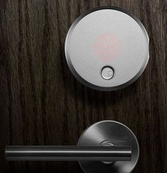Smartphone Controlled Smart Lock Digitizes Your Home Security #technology