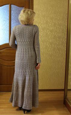 knt dress - pattern by Clara Lana