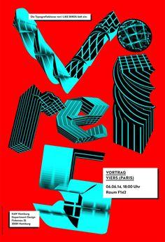 Conférence de Vier5 à la HAW à Hamburg(Poster: Cristina Poelk & Artur Neufeld)