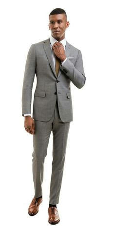 38346a78aab9f Light grey Light Grey Suits, Black Suits, Grey Pattern, 3 Piece Suits,