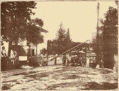 Granica između Jugoslavije i Italije postavljena Rimskim sporazumom 1924. godine na cesti kod današnje Erste banke na Zametu.