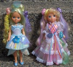 Lady Lovely Locks and Maiden Golden Waves, I loved these dolls so much!!!