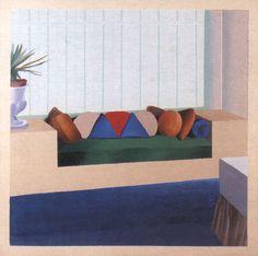 David Hockney, Cojines ordenados, 1967