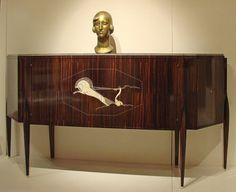 jacque emile ruhlmann art deco desk in burl walnut and mother of pearl detail mile jacques ruhlmann 18791933 paris credenza inlay art deco office credenza