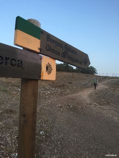 Near Atapuerca 2015 july McG Spanish Sides, St Jacques, The Camino, Rest Days, Pamplona, Pilgrimage, Signage, City, Places