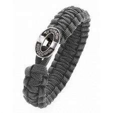 From Soldier To Soldier Silver Button Gray Bracelet 07101069 Bracelet Clasps, Bangle Bracelets, Bangles, Soldier 10, Silver Buttons, Men Looks, Jewelry Stores, Men's Jewelry, Bracelet Making
