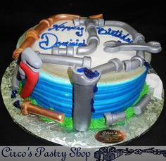 Wallnut Whip Wedding Cake