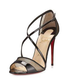 Women\u0026#39;s Christian Louboutin \u0026#39;Nicole K\u0026#39; Caged Sandal, 4 3/4\u0026quot; heel ...