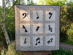 Music Quilt- I like it!!!