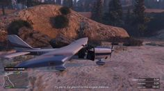 Grand Theft Auto V Low Flying challenge FAIL