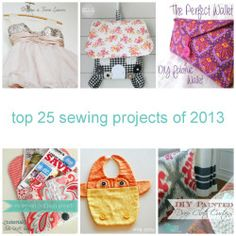 Top 25 Sewing Projects of 2013