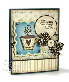You Mocha Me Crazy - Verve Stamps Inspiration Gallery. Better With You stamp set - Verve Stamps.