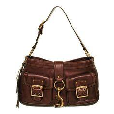Coach Legacy Leather Hobo Handbag found on Polyvore