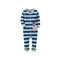 Toddler Boy Carter s Striped One-Piece Pajamas 6f2cb96bd