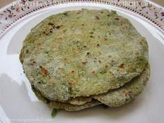 Recepty z Indie: Paratha s cuketou a jarnou cibulkou