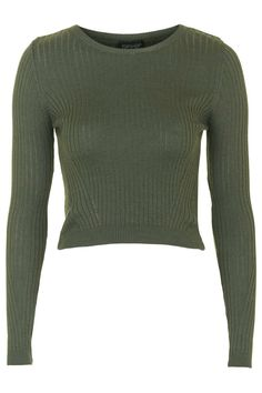 Wool Mix Cropped Jumper - Topshop