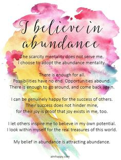 A Positive Affirmation for Cultivating an Abundance Mentality Positive Affirmations Quotes, Morning Affirmations, Affirmation Quotes, Positive Quotes, Positive Thoughts, Positive Vibes, Empowering Quotes, Abundance, Me Quotes