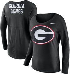 Georgia Bulldogs Nike Women's Tailgate Long Sleeve T-Shirt - Black - $49.99