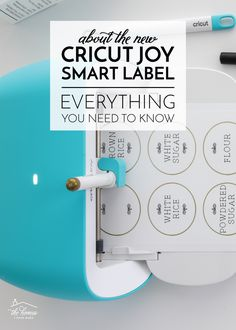 About Cricut Joy Smart Label