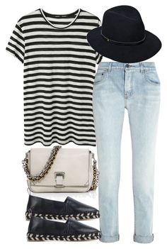 """Untitled #3061"" by bubbles-wardrobe ❤ liked on Polyvore featuring Proenza Schouler and rag & bone"