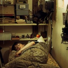 Harry's room, the cupboard under the stairs, was the smallest set created for any of the films. Because of its size, its four walls were removable so that the camera could access the cramped, cell-like room. #HarryPotter
