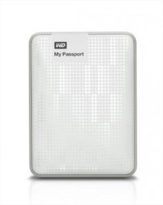 HD Externo Western Digital WD My Passport 500GB Portable External Hard Drive Storage USB 3.0 White WDBKXH5000AWT-NESN #HD Externo #Western Digital