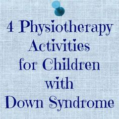 Here is a post about the physiotherapy and occupational therapy we do with our daughter, Hazel, who has Down syndrome.