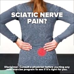 Sciatic Nerve, Nerve Pain, Sciatica, Sport, Motivation, Back Pain, Workout Programs, Health Tips, Health And Beauty
