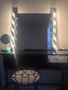 DIY Inexpensive Makeup Vanity Idea from IKEA