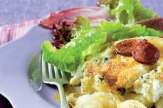 Špenátové gnocchi | Apetitonline.cz Gnocchi, Ricotta, Mozzarella, Cauliflower, Food And Drink, Meat, Chicken, Vegetables, Recipes