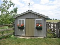garden shed hall of fame: Window Box Shed