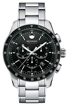 Movado 'Series 800' Chronograph Bracelet Watch | Nordstrom