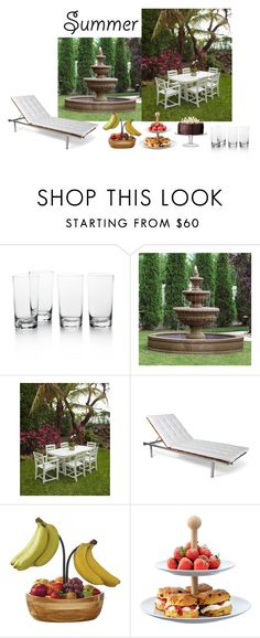 """""""Untitled #2225"""" by mina1924 ❤ liked on Polyvore featuring interior, interiors, interior design, home, home decor, interior decorating, Ralph Lauren Home, Frontgate, Skargaarden and Mikasa"""