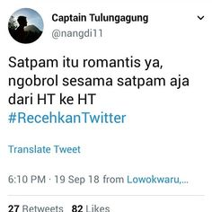 "recehkan twitter di Instagram ""#meme #lucu #ngakakkocak #dagelan #humortwitter #memetwitter #tweetlucu #ngakak #kocak #recehkantwitter #recehkanig #recehkaninstagram…"" Funny Quotes Tumblr, Jokes Quotes, Life Quotes, Tweet Quotes, Twitter Quotes, Funny Tweets, Funny Jokes, Funny Chat, Quotes Lucu"